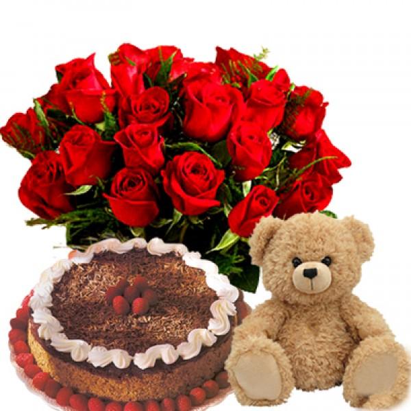Angelique Love Hamper Flowerscakesonline Com