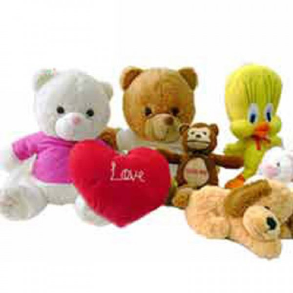 Room Filled With Soft Toys : Send soft toys to india buy teddy online for her sister