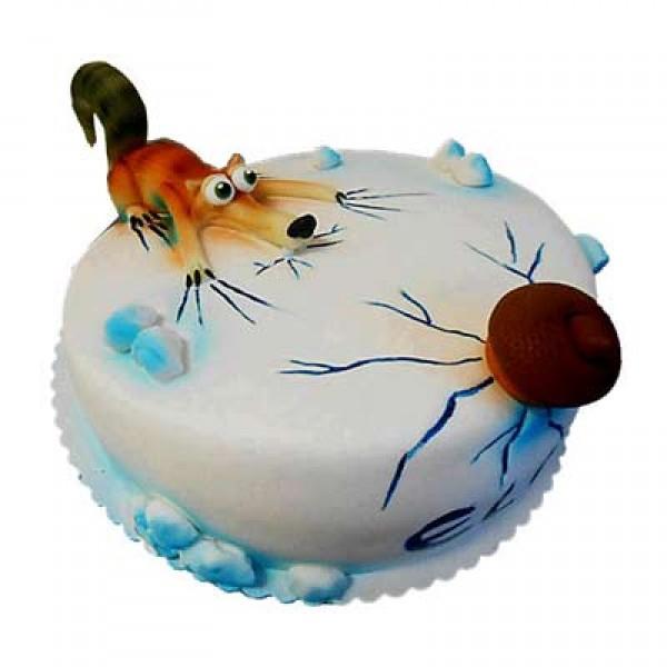 Cartoon Cake Alphabet Numbers Cake Cartoon Birthday