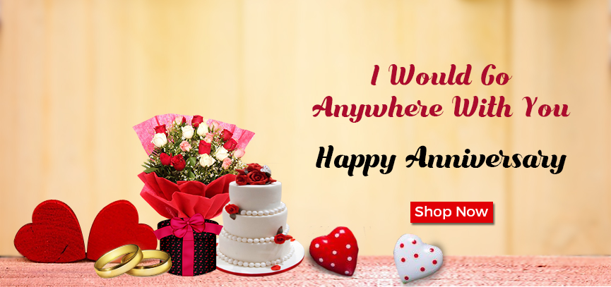 anniversary flowers, cake, gifts delivery online India