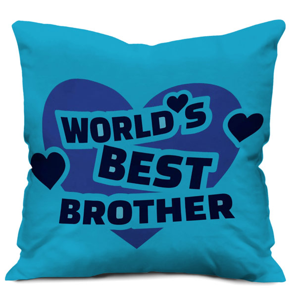 Quote Printed Satin Cushion Cover